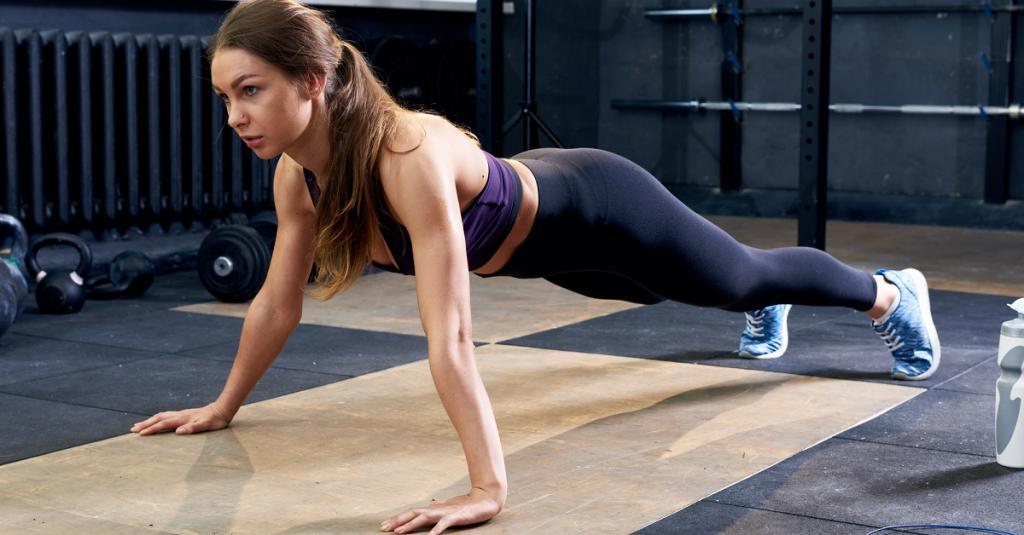 Упражнения на попу без нагрузки на колени