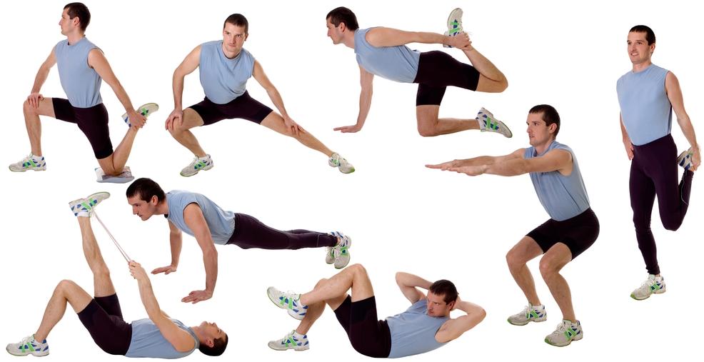 Способы похудения для мужчин тренировки и диета