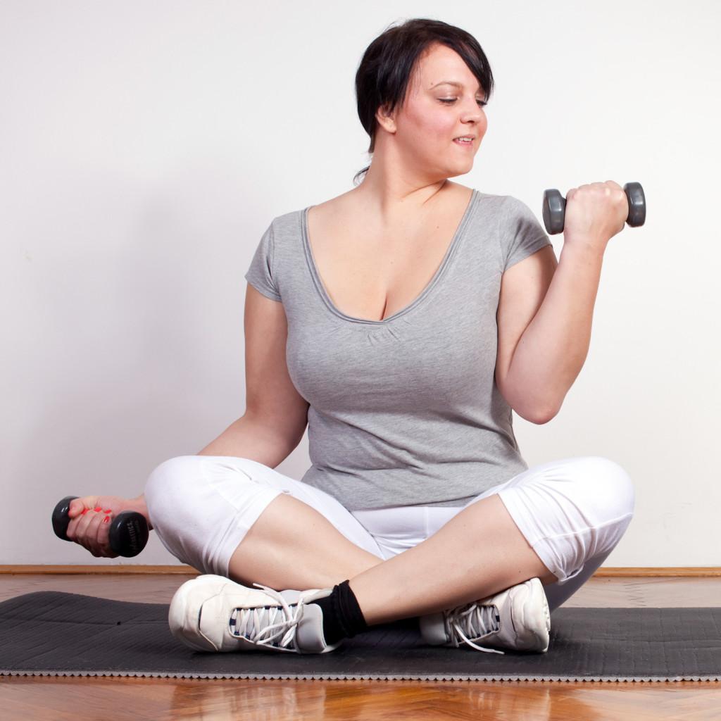 Сбросить вес тренировкой