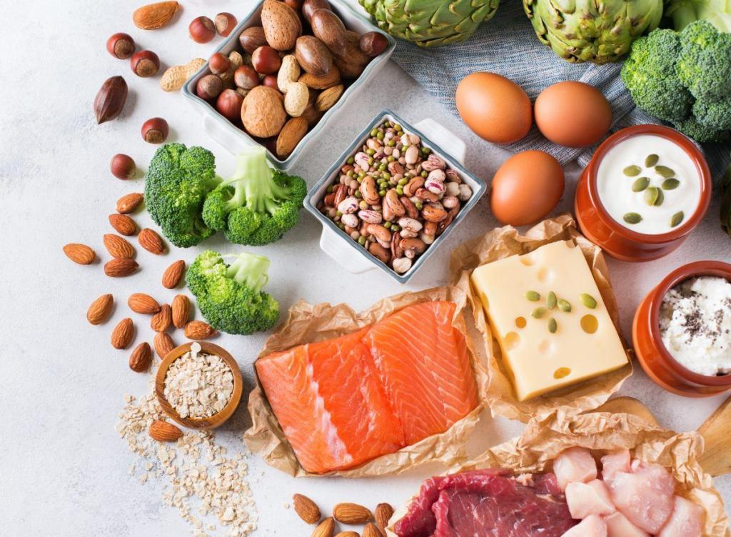 белковая пища при похудении