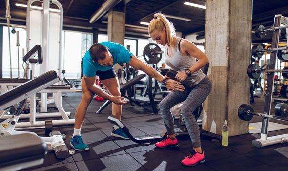 тренировка для похудения в зале