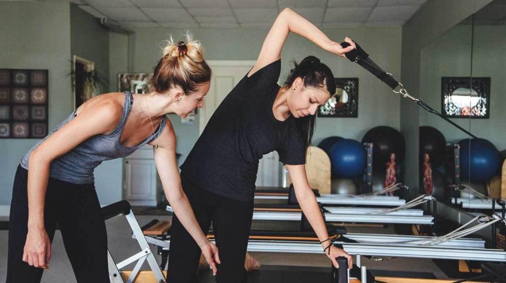 упражнения в тренажерке для похудения