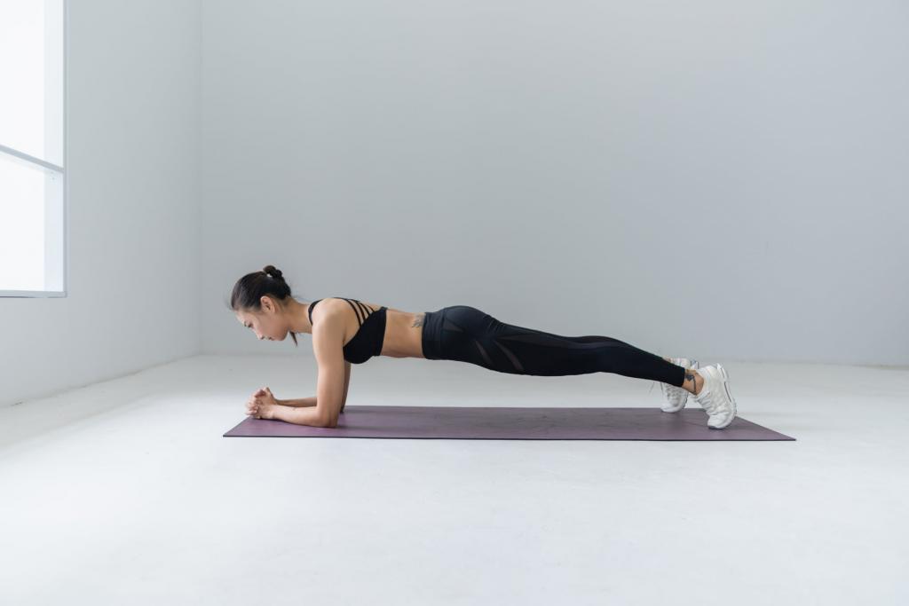 Упражнения планка для похудения рук